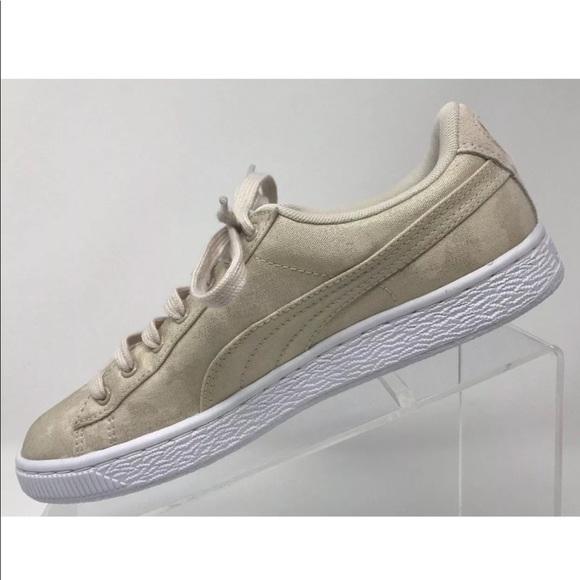 buy popular eeb76 acc38 Puma Basket Denim Shoes Lace Up- LOWEST PRICE